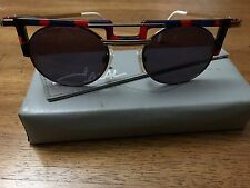 Cazal Vintage Sun glasses Model 745 Col 760 NEVER WORN W/ CASE Eye wear