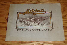 Original 1910 Mitchell Motor Car Full Line Catalog #20 Sales Brochure