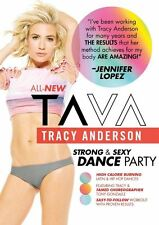 Cardio Dance EXERCISE DVD Tracy Anderson TA VA Strong and Sexy Dance Party 2016