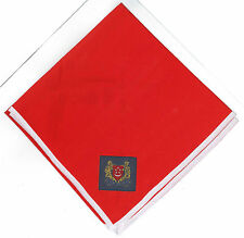 SCOUTS OF SINGAPORE - Official Scout Uniform Neckerchief (N/C) / Scarf (RED)