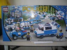 BRICTEK Police Station 814 pcs(Compatible with Legos) BT-C9699