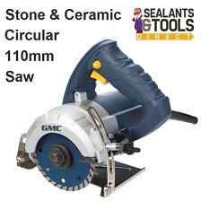 GMC Circular Saw 1250W Wet Stone Cutter 110mm 263288 GMC1250 Marble Ceramic Tile