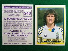 CALCIATORI 1992-93 92-1993 n 246 PARMA BENARRIVO , Figurina Sticker Panini NEW
