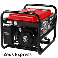 Portable Generator 4000 Watt DuroMax 7 HP Gas Powered Home  RV Camping Tools