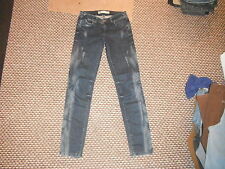 """TRF Premium laver jeans ZARA taille 28 """"Jambe 31"""" délavé dames jeans bleu foncé"""