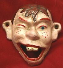 Unusual Reproduction   Howdy Doody Style Cast Iron Bottle Opener   Wall Mounting