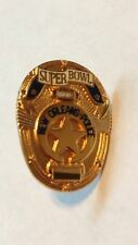 SUPER BOWL 31 XXXI PIN TIE BADGE NEW ORLEANS POLICE GREEN BAY PACKERS PATRIOTS !
