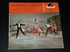 45 tours EP - CATERINA VALENTE - MELODIA D'AMORE - 1958