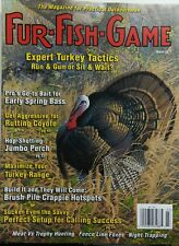 Fur Fish Game March 2017 Expert Turkey Tactics Bass Coyote Fox FREE SHIPPING sb