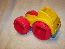 Peek a Block Dump Truck Fisher Price  sonuds and music  great no blocks truck