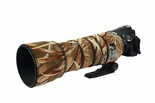 Sigma 150 500mm OS Premium Neoprene lens cover camouflage protection Harvest