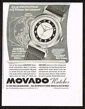1940's Vintage 1942 Movado Watch Co. - Paper Print AD
