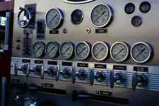 Metal Sign 780044 Fire Truck Gauges A4 12X8 Aluminium