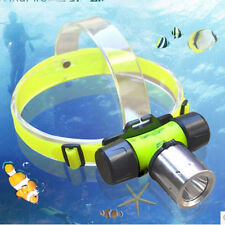3500Lm CREE T6 LED AAA/18650 Diving Swimming Headlamp Headlight Light Lamp Torch