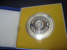 070715 Original DDR DFV Fußball Ehrenplakette Präsidium in Gold
