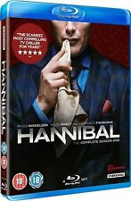 HANNIBAL Complete TV Mini Series Season 1 Blu Ray Collection + Extras New Lector