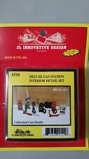 JL Innovative Design - HO Scale Detail Set #510 Deluxe Gas Station Interior Set