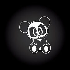 JDM Panda Girl Auto Aufkleber Sticker Decal JDM OEM Style Shocker 9,0 x 10,6 cm