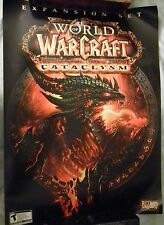 """World of Warcraft Cataclysm Game Release Promo Poster (19 3/4"""" X 27"""") Blizzcon"""