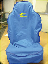 SUBARU WORLD RALLY TEAM SEAT COVER WITH SWOOSH LOGO IN YELLOW WRX WR LTD