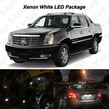 18 x White LED Interior Bulbs + Reverse + Tag Lights For 2007-2014 Escalade EXT