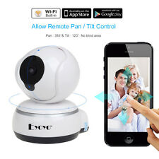 Q3 HD 720P Wifi cámara vídeo 2 vías audio Talk PT Baby Monitor IR for Iphone6,6S