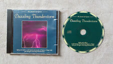 """CD AUDIO MUSIQUE / THE SOUNDS OF NATURE DAZZLING THUNDERTORM"""" CD COMPILATION 6T"""