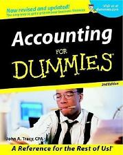 Accounting for Dummies by John A. Tracy (2001, Paperback)