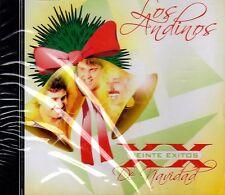 LOS ANDINOS - 20 EXITOS NAVIDEÑOS -  CD