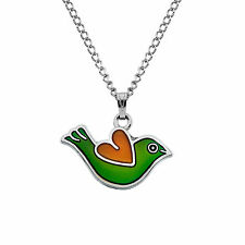 Sea Gems Love Bird Colour Change Mood Necklace / Pendant with 16.5 inch Chain