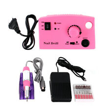 New EU Salon Electric Nail Art File Drill Machine Manicure Pedicure Equipment