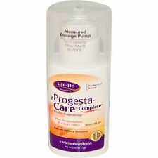 LIFE-FLO PROGESTA-CARE COMPLETE CREAM, 4 oz, (113.4g) MENOPAUSE/HOT FLUSHES/PMS