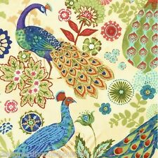 The Keepsake Calico Royal Peacock cotton quilting fabric , F/Q or YRD
