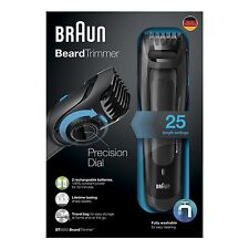 Braun BT5050 Mens Cordless Washable Beard Trimmer *2 Year Warranty* New & Boxed