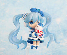"Cute 3"" Nendoroid Vocaloid Hatsune Miku Magical Snow Miku Animation Figure Gift"