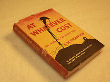 """WW II   """"AT WHATEVER THE COST: THE STORY OF THE DIEPPE RAID"""" 1957 ed"""