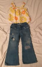 Cute Outfit Baby Gap & Carters 2T Jeans & Top