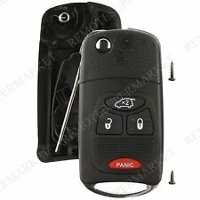 Replacement for Dodge Avenger Charger Magnum Remote Key Fob 4b Shell Case