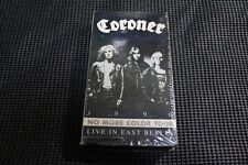 CORONER No More Color Tour Live in East Berlin VHS ORG OOP 1990 Celtic Frost
