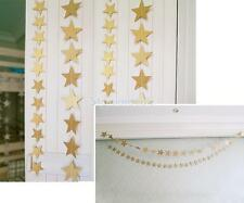 Hanging Paper Garland Wedding Baby Shower Party Ceiling Star Banner Decor
