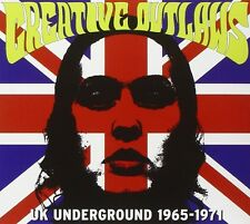 CREATIVE OUTLAWS-UK UNDERGROUND 1965-1971  CD NEU