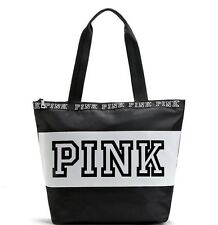 New Victoria's Secret PINK Canvas Large Bag Yoga Beach Holiday Gym School Travel
