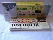 CASIO PT-82 Vintage 1980 's Casiotone Electronic Synth KEYBOARD