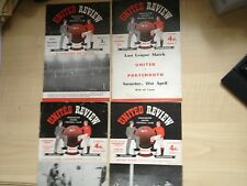 56/57 Man/manchester united v Athletico Bilbao European Cup