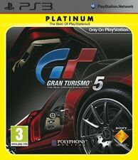 GRAN TURISMO 5 RACING GAME REGION FREE for SONY PS3 SEALED NEW