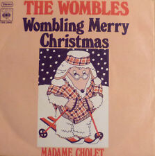 "7"" 1973 RARE MINT-! WOMBLES : Wombling Merry Christmas"
