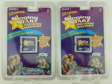 Singing Starz Video Karaoke Machine Cartridges Volumes 1 & 4. 5 Hot Songs!