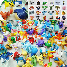 24pcs Mini Pokemon Pikachu Monster Random Pearl Figures Toy Wholesale Mixed Lots