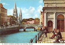 BF1231 st finbarr s cathedral and river lee cork city   Ireland