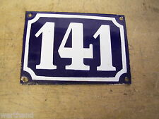 Altes Emailschild Schild Email Hausnummer 141